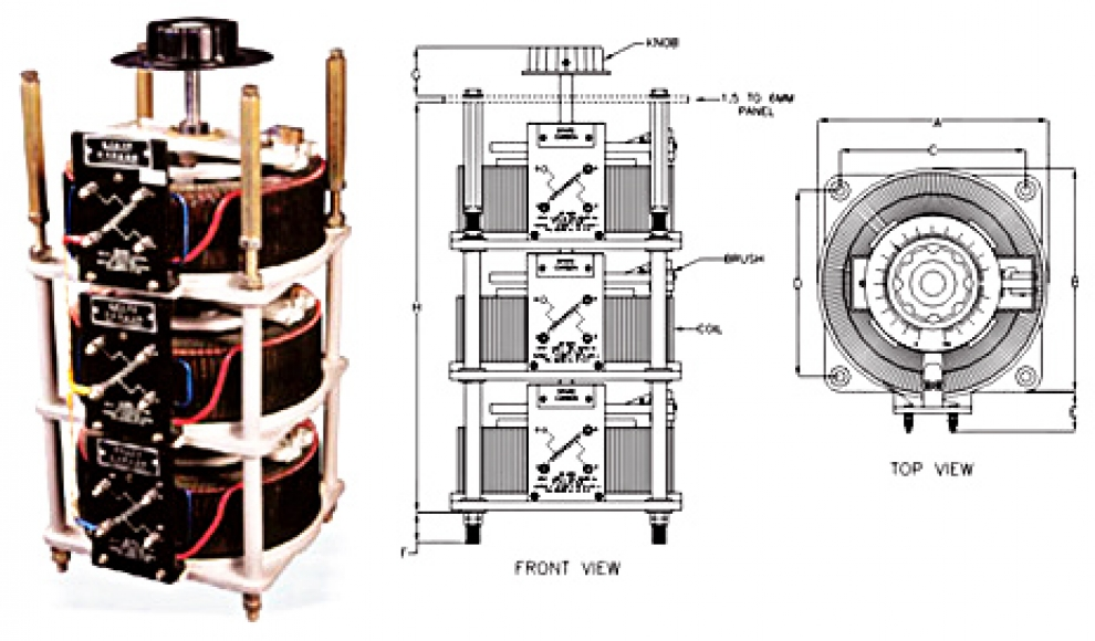 SINGLE PHASE & THREE PHASE DIMMERS